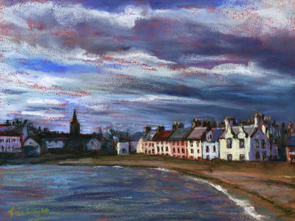 Anstruther Shore, Pastel