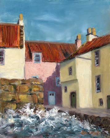 Choppy Day, The Gyles, Pittenweem