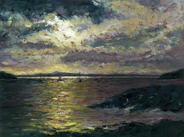 Evening Light, Oil