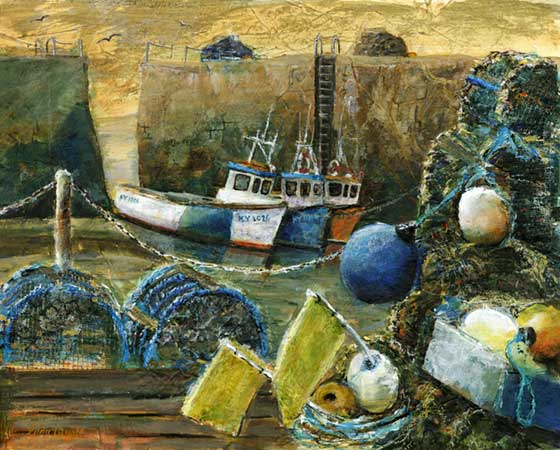 Lobster Pots, Crail