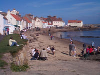 The beach at West Shore, Pittenweem.