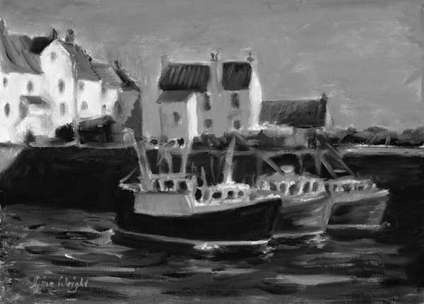 Three Boats Pittenweem
