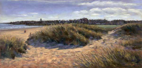 View From The Dunes, St. Andrews